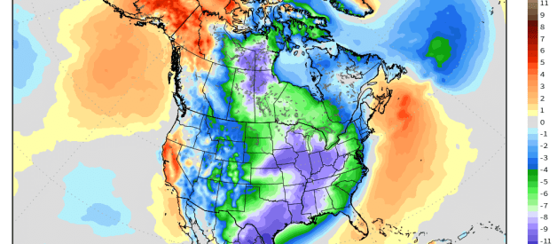 Arctic Blast Likely at end of the Week