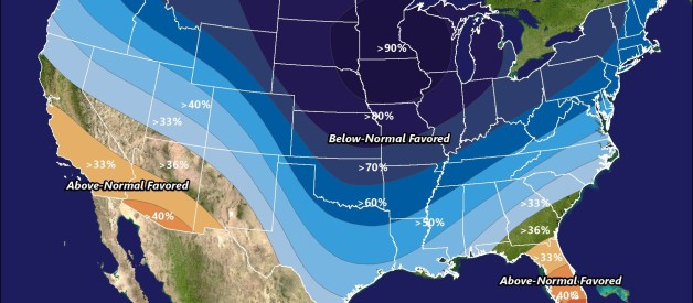 Below-Average Temperatures Likely to Return to Start March