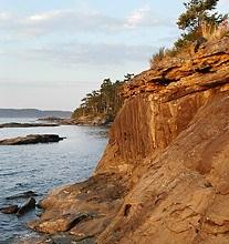 Portland Island, Gulf Islands National Park Reserve of Canada, Southern Gulf Islands, British Columbia
