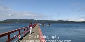 Saltspring Island Goverment Dock at Fernwood Point