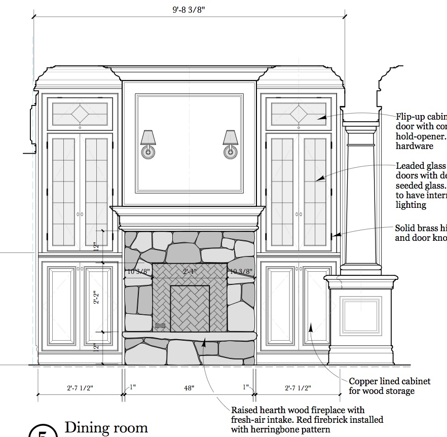Blog Archive  interior elevations and millwork