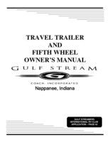 Alpenlite 5th Wheel Owners Manual