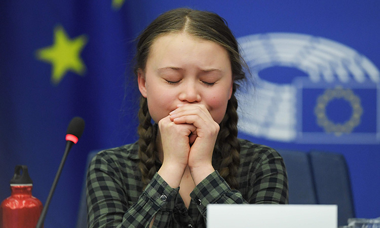 Teen Activist Makes An Emotional Plea For Climate