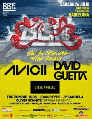 Barcelona Beach Festival... ¡se va a liar la del pulpo!
