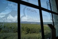 Desde el mirador del ático y desde el interior, con paneles explicativos, podemos contemplar el lugar de la batalla.