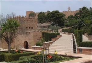 Interior de la Alcazaba