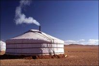 La construcción típica mongola: el Ger