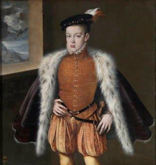 Alonso Sánchez Coello. El príncipe don Carlos. Sala 56 del Museo del Prado