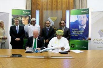 Oman Air y Europcar anuncian un acuerdo colaboración para premiar a los miembros del programa Sindbad