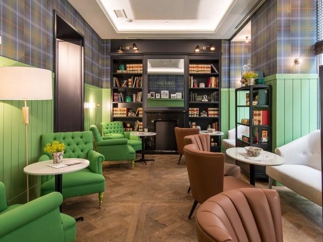 Peppermint Tea Time en el Vincci The Mint de Madrid