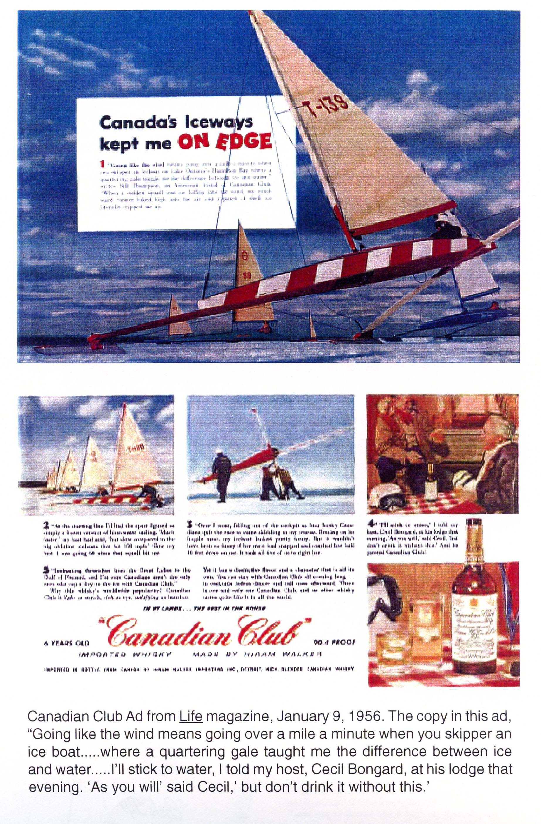 Ice Boat Advertisements