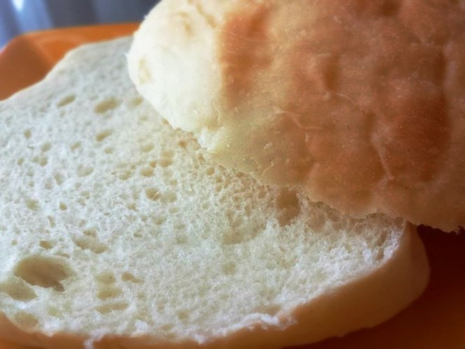 homemade bun
