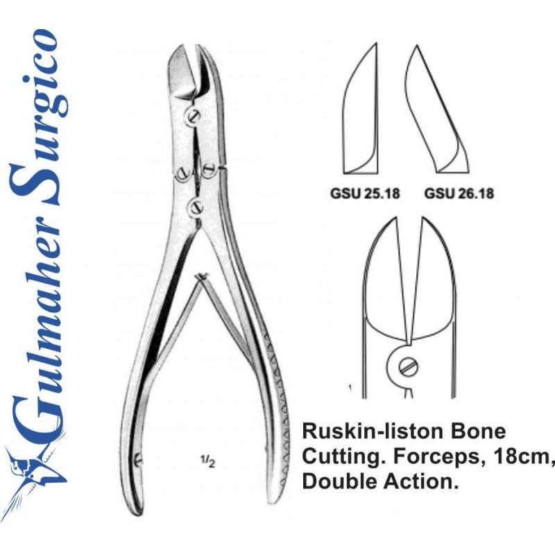 Ruskin-liston Bone Cutting Forceps|Gulmaher Surgico