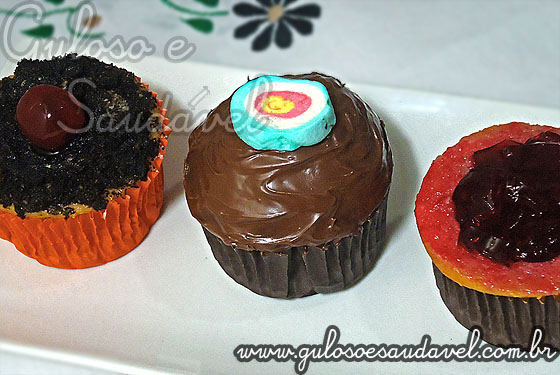 Foto do Cupcake de Baunilha no Liquidificador