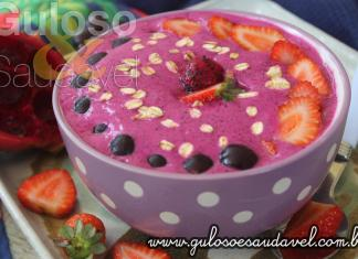 Receita de Smoothie de Pitaya no Bowl