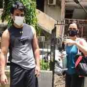 Sonu Sood And His Wife Snapped At The Gym