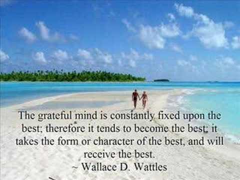 Grateful minds