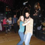 Two steppin' to the funk