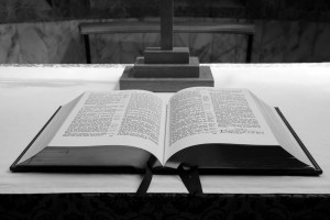 Gum Branch Baptist Church - Image of a Bible