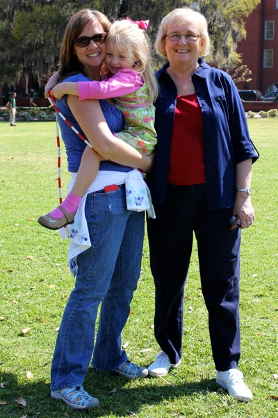 Forsyth Park with Nana