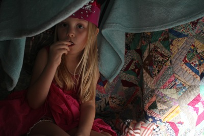 In the quilted fort