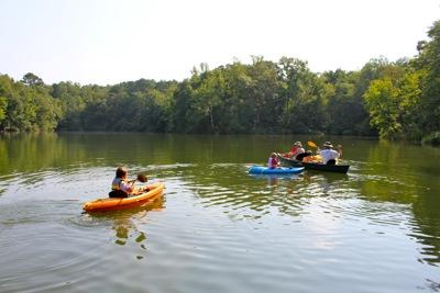 Kayaking to Shell Island