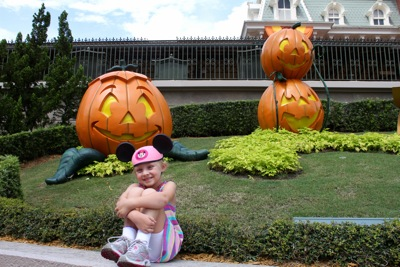 Magic Kingdom in the Fall
