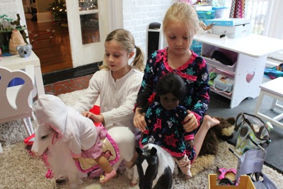 American Girl playdate