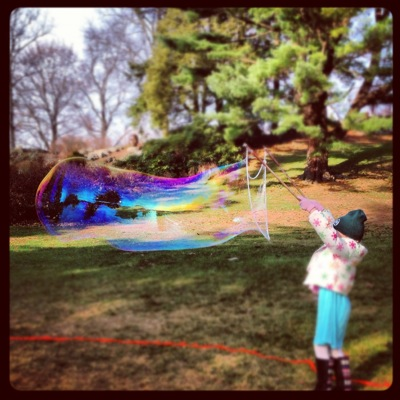 Blowing the Biggest Bubbles