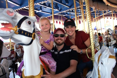 Family Carousel Ride