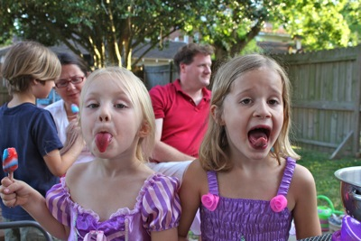 Popsicle Tongues