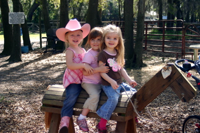 Three Cowgirls