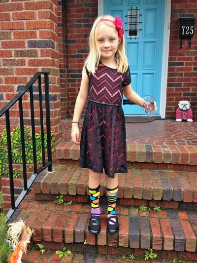 Dress and Knee Socks