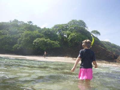 Snorkeling at TreeTops Beach