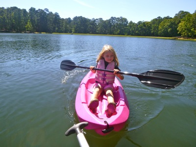 Kayaking Lake Delano
