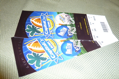 Bowl Game Tix!