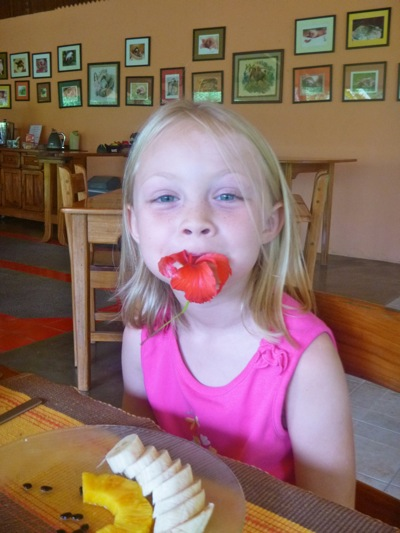 Camille Eats Like a Sloth