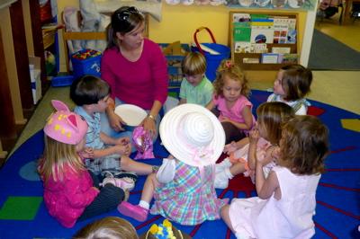 Circle Time at School