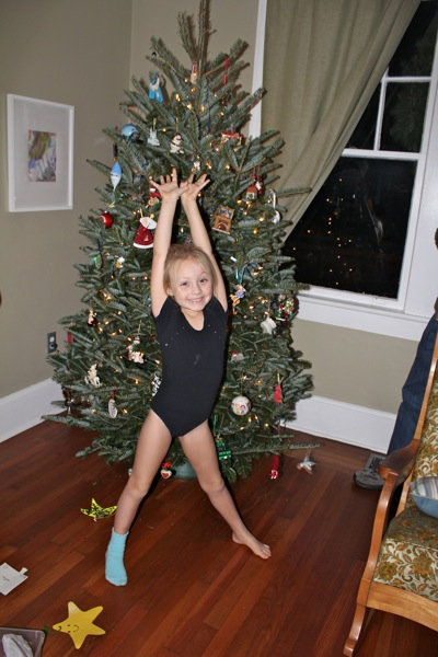 The Leotard-And-One-Sock Look