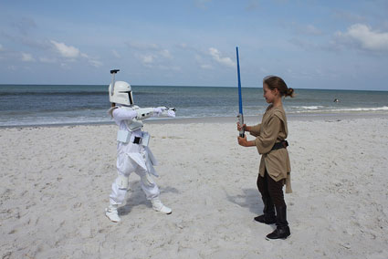 Star Wars on the Beach