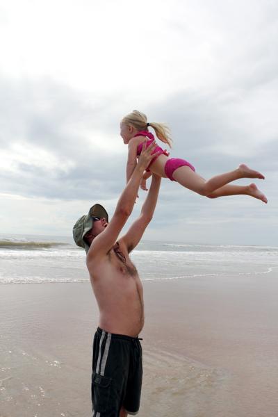 Daddy's Beach Girl