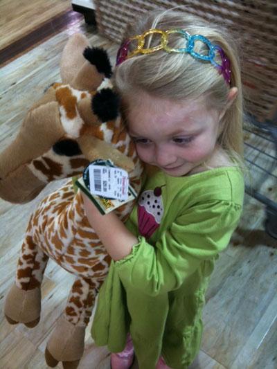 Beloved Giraffe