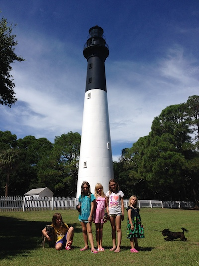 Lighthouse at Hunting Island
