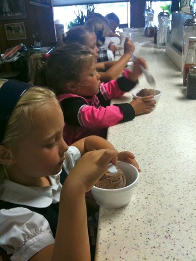 Celebratory Ice Cream
