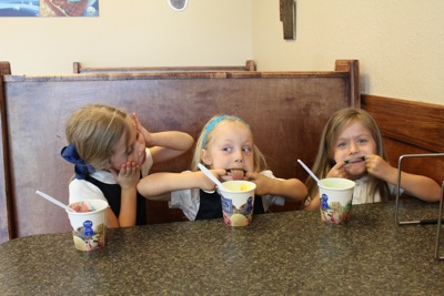 Ice Cream with a Side of Sillies