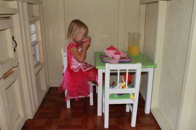 Playhouse Tea Party