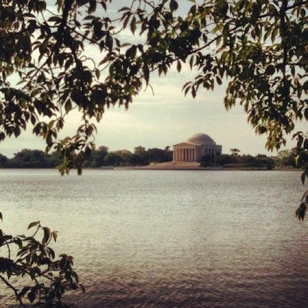 DC Run - The Jefferson Memorial