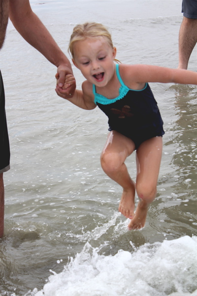 Jumping the Waves