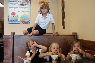 Last Day of Pre-K Ice Cream