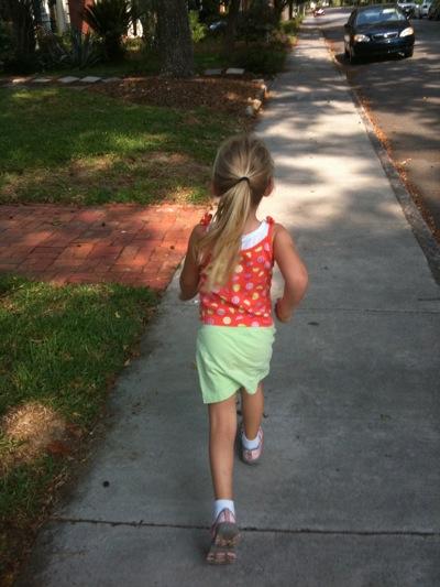 Running Through the Neighborhood